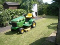 "John Deere LX277Ride on lawnmower 38"" Cut Mower"