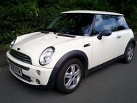 Mini One 1.6 2006 Pepper White 12 Months MOT (no advises)