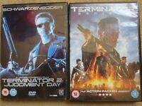 TERMINATOR DVD BUNDLE – 2 ORIGINAL DVDs £1