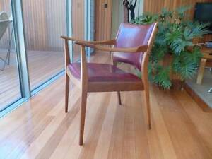 TH Brown armchair Danish style Ashton Adelaide Hills Preview