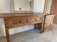 Dresser and Bedside Cabinet
