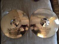 """Sabian AAX 14"""" Stage Hi Hat Cymbals"""