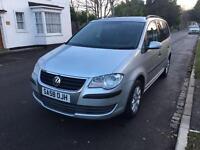 2008 (58) Volkswagen Touran 1.9 TDI S 5 Door 7 Seats *Long MOT*Low Mileage*