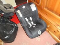 britax car seat clean all working order up to three year old