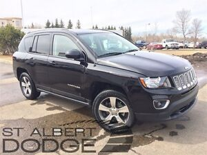 2016 Jeep Compass SPORT/NORTH   4X4   HEATED LEATHER   LOW KMS