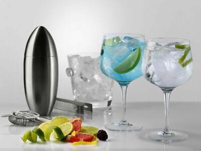 BOX 6 - Giant BOHEMIA CRYSTAL PREMIUM ALQUITARA Wine gin tonic Glass...