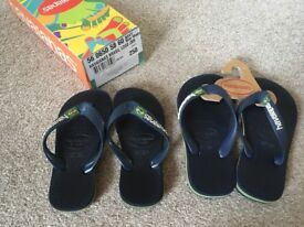 Havaianas boys UK 8-9 and UK 10-11