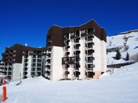 France Three Valleys French Alps Ski to and from the door. Two room 38 sqm apartment for sale