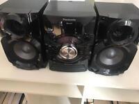 Panasonic Bluetooth cd radio system