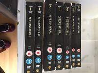 Supernatural box sets series 1-6