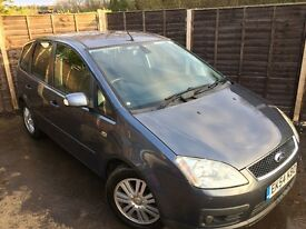 Ford Focus C-Max CMax 1.6 TDCi Ghia 5dr - Full Service History - Long Mot