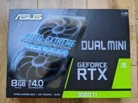 RTX 3060 Ti 8gb - new, sealed - Asus Dual Mini v2 LHR (nvidia 3060ti)