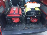 2 Honda generator petrol