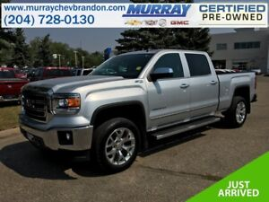 2015 GMC Sierra 1500 Crew Cab SLT Z71 4WD *Nav* *Heat/Cool Leath