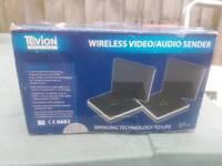 Wireless video audio sender