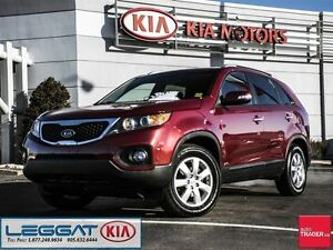 2013 Kia Sorento LX - No Accident, One Owner, AWD, Heated Seats