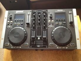 DJ DECKS Gemini CDM-3610 MP3/ CD Player W/ Mixer System