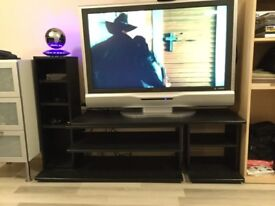 42 inch TV in silver