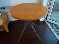 Old Fold Up Dining Table