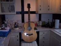 Moondog Spirit Electro acoustic guitar.