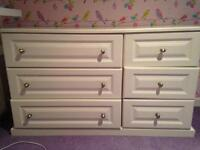 White Chest of Drawers For Sale