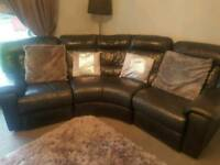 Leather couch 7 year old