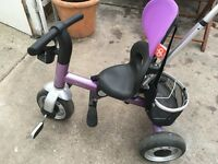 Child's trike (Avigo) purple