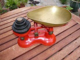 Antique kitchen scales
