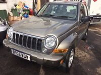 2005 Jeep Cherokee. AUTOMATIC. DIESEL. LEATHER SEATS. BRILLIANT CONDITION. MOT - 24/10/2016