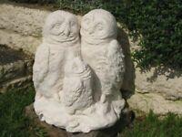 3no concrete garden ornaments for sale