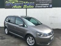 2011 VW TOURAN SE 7 SEATER VERY CLEAN CAR FULL HISTORY *FINANCE AVAILABLE*