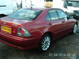 Swap Lexus IS 200 2.0 auto SE or Swap for what you Have Car or Van