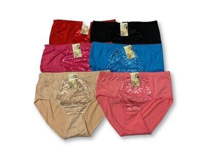 Lot of 5 Womens Hipster Boyshort Girl Panties Bikini Cotton Underwear - Boyshort Underwear