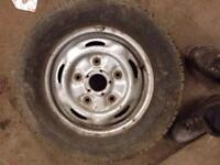 FORD TRANSIT ALLOY WHEELS GOOD CONDITION 25£ EACH!!