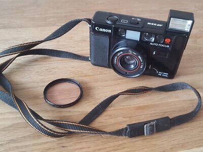 Canon AF35M Sure Shot Auto Focus Point & Shoot 35mm Film Camera 38mm F/2.8 Lens