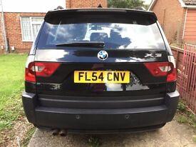BMW Sports X3i - Black - Low price due to dent on door