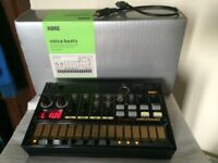 Korg Volca Beats in perfect conditions. It comes with box, sync cable, manual and 6 AA batteries.