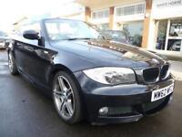 BMW 1 SERIES 2.0 118D SPORT PLUS EDITION 2d AUTO 141 BHP (black) 2013