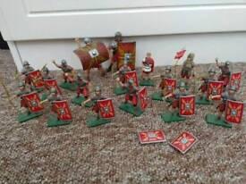 Model Roman soldiers