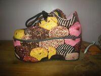 Buffalo Platform Boots Limited Edition size 8.5 unworn