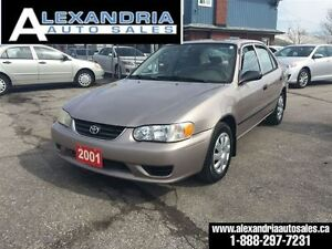 2001 Toyota Corolla CE/LOADED