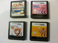 NINTENDO DS,lite GAME,s bundle x 4 cooking mama.