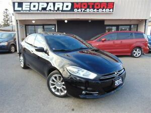 2013 Dodge Dart Limited,Navigation,Camera,Sunroof*No Accident*Lo