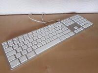 Genuine Apple Aluminium Keyboard, UK Layout, Model A1243