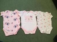 Mix of baby clothes