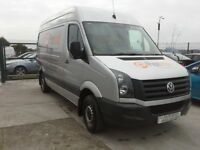 **For breaking** Vw Volkswagen Crafter 2.0D diesel, 6 speed (2014).