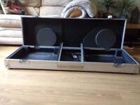 Technics Vinyl decks DJ Coffin Flight Case