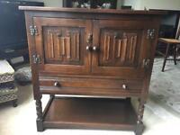 Jaycee Oak Credence Cabinet/sideboard