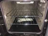 Black Parkinson Cowan 50cm gas cooker grill & oven good condition with guarantee