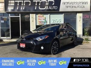 2016 Toyota Corolla S ** 6 Speed Manual, Sunroof, Bluetooth, Low